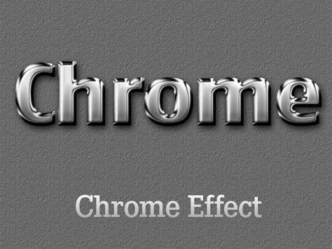 Photoshop Words Chrome Tutorial | free cool photoshop layer text effects asl water