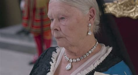 what products to use to get judi dench hair diamond necklace judi dench in victoria and abdul 2017