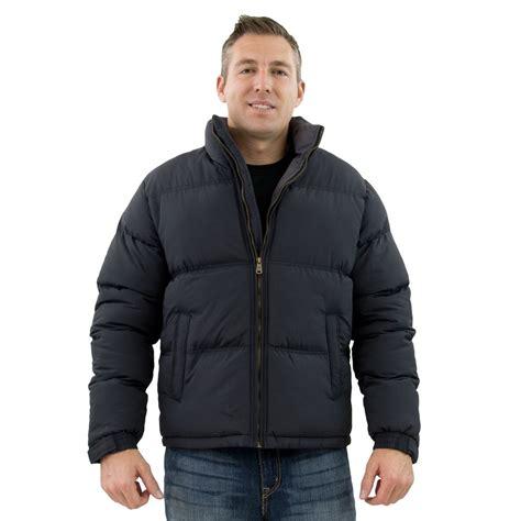 Men S | tempco men s puffer jacket black grey tm125 6blk cgy