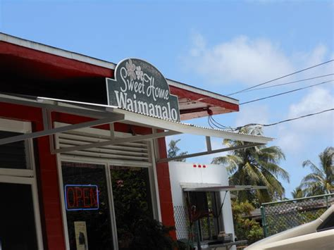 sweet home waimanalo waimanalo restaurant reviews