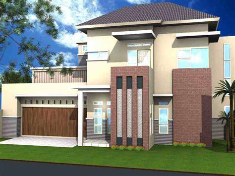 desain cat eksterior rumah kombinasi warna cat luar rumah minimalis tak depan yang