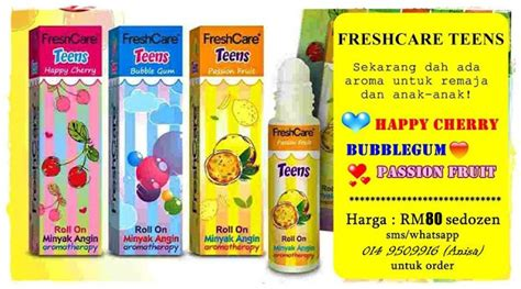 Cooling Fresh Minyak Angin Aroma Theraphy 1 jesselton shoppe freshcare minyak angin aromatherapy