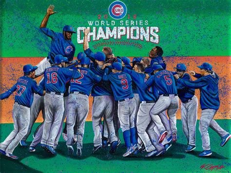 world painting show lopa studios chicago cubs world series chionship