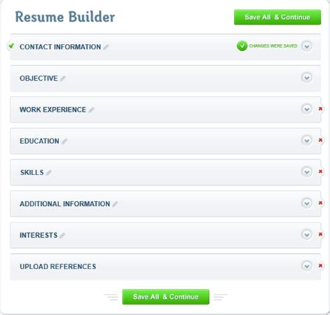 Resume Add Address Create A Professional Resume In Minutes With Resumebaking