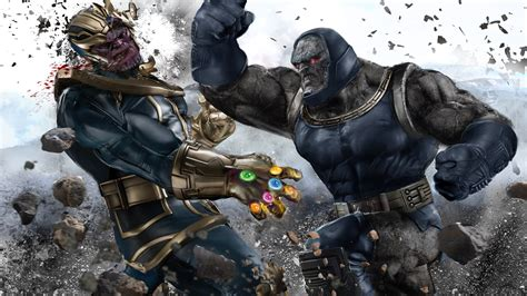 darkseid infinity gauntlet darkseid vs thanos battles comic vine
