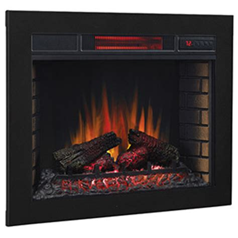 classicflame 28 in spectrafire plus classicflame built in electric fireplaces mantelsdirect