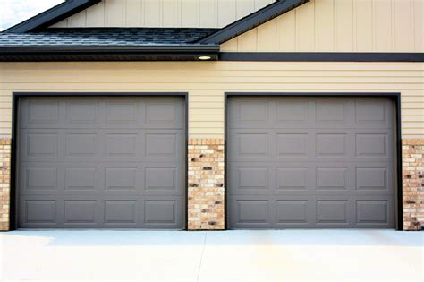 Panel Garage Door by Garage Door Pictures Before After Images