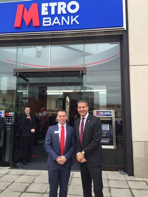 metro bank uk festival fever in sw19 as metro bank opens newest branch