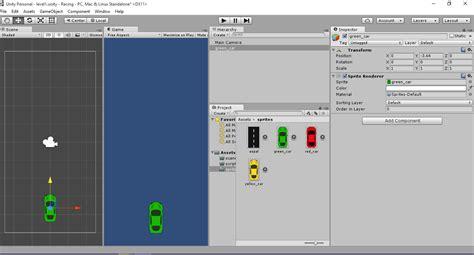 membuat game balap mobil dengan unity membuat game racing 2d dengan unity part 1 jalan dan
