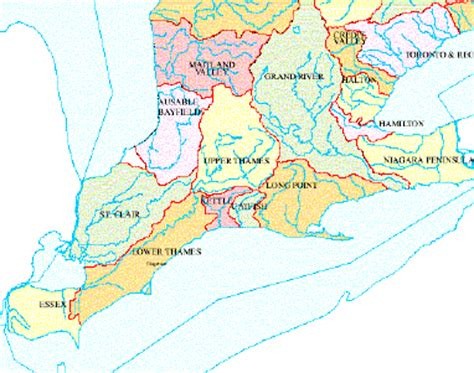thames river ontario map conservation areas visiting carolinian canada sites
