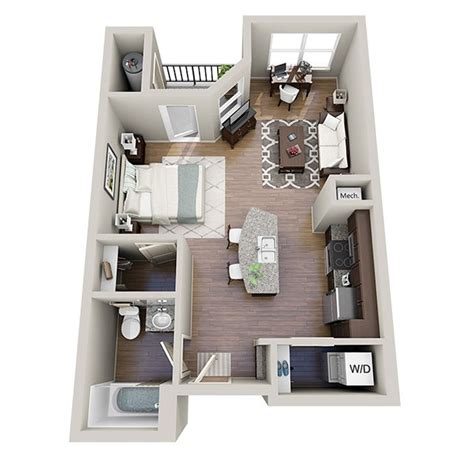 Studio Apartment Layout | studio apartment floor plans