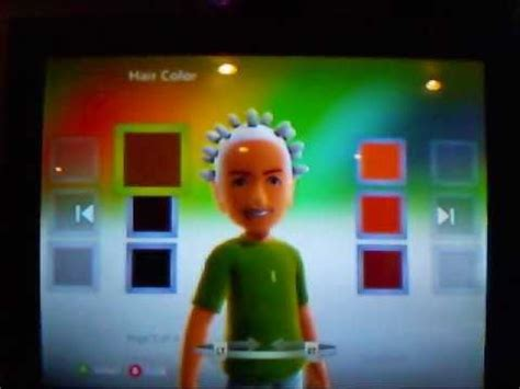 hairstyles xbox avatar how to get special xbox avatar hairstyles and colors youtube
