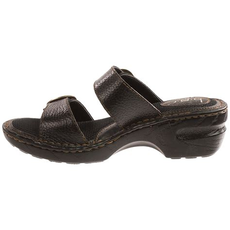 born leather sandals b o c by born bensi sandals for 9374p save 46
