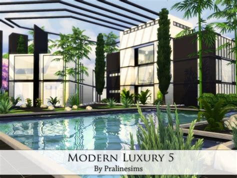 by erin l on hobbies sims house building inspiration pinterest the sims resource modern luxury 5 by praline sims sims