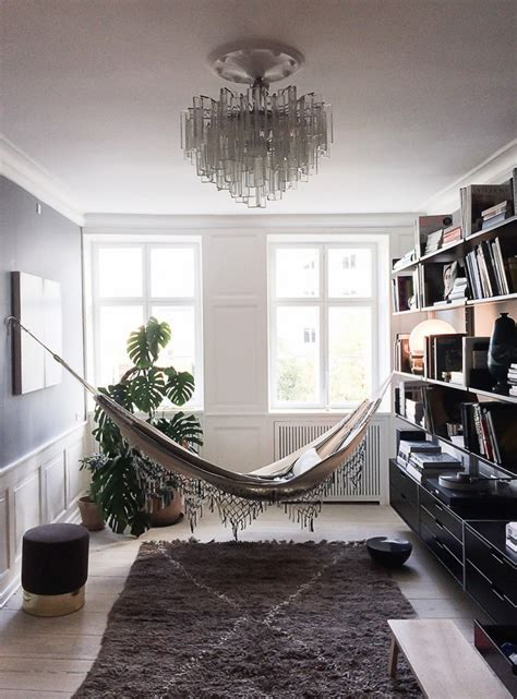 living room hammock 18 indoor hammocks to take a relaxing snooze in any time