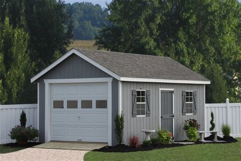 Home Garage Workshop by Garage Shed Designs
