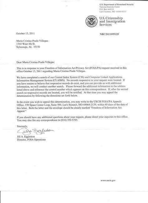 Support Letter To Immigration Officer Cover Letter For Uscis Order Essay