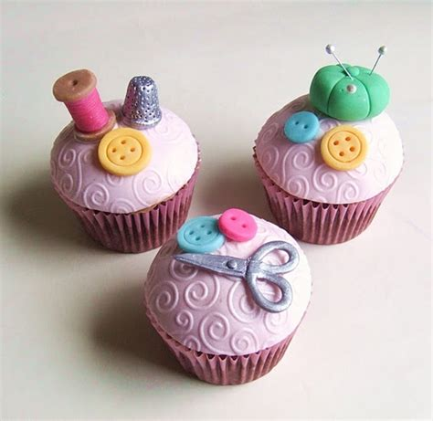 best 25 sewing cake ideas on button cupcakes
