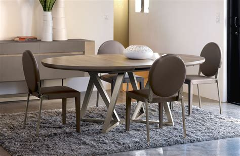 table de salle a manger moderne avec rallonge