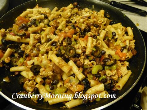 comfort food pasta cranberry morning wintertime pasta comfort food recipe