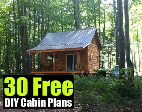 building plans for small cabins small cabin building plans free diy cabin plans