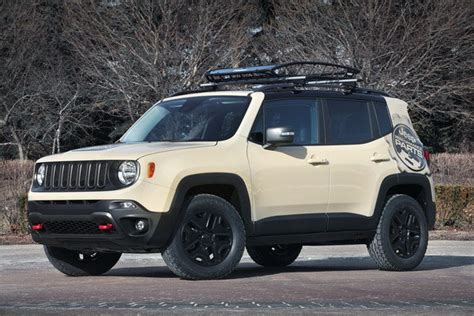 tan jeep renegade 2015 jeep renegade desert hawk truck review top speed