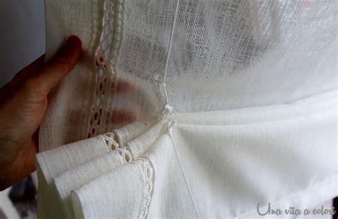 cucire una tenda a pacchetto tutorial come cucire le tende a pacchetto