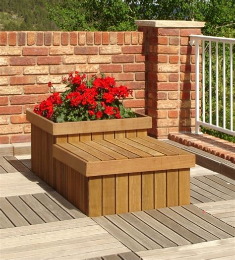 Planters For Decks by Where To Buy Ipe Planters Boxes And Seats Edeck