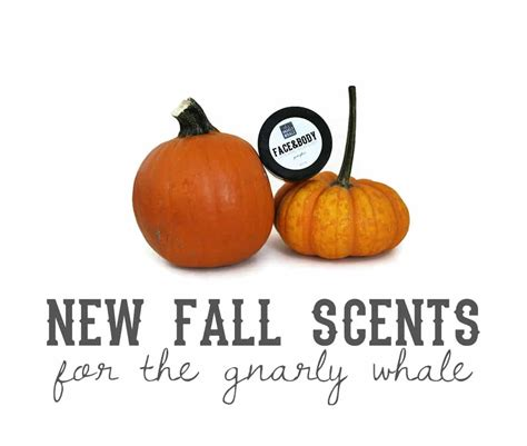 fall scents new gnarly whale fall scents hello nature