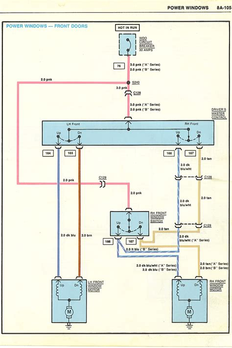 power window wiring diagram 1985 monte carlo ss johnywheels