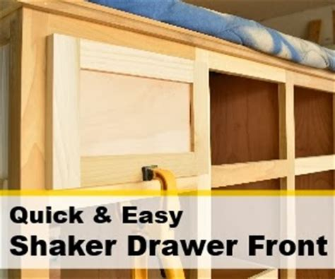 How To Make Drawer Fronts az diy s projects and easy shaker drawer fronts
