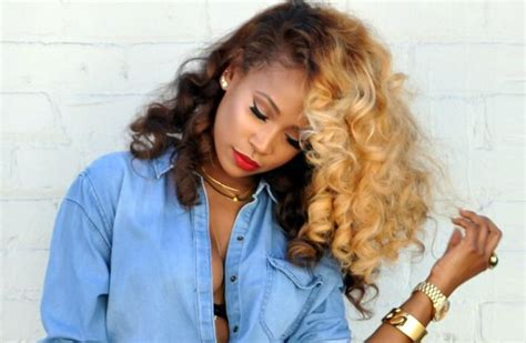 Best Hair Color For Black Women Pick The Shade That Suit Home Hair Colour Blonde