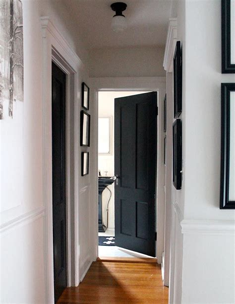 white matt paint for woodwork 25 best ideas about black doors on black
