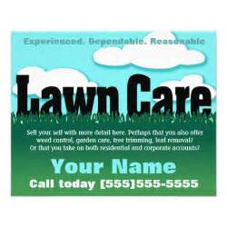 lawn care advertising templates lawn care landscaping mowing marketing flyer zazzle