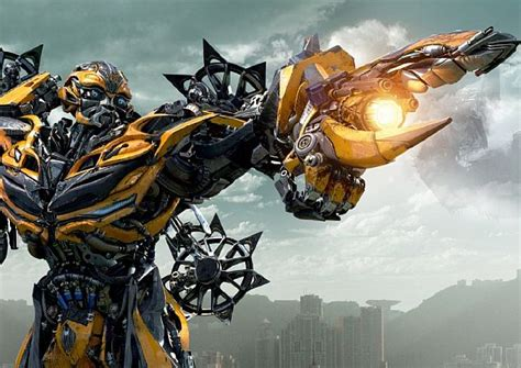 film robot dinosaurus transformers age of extinction brings giant robot