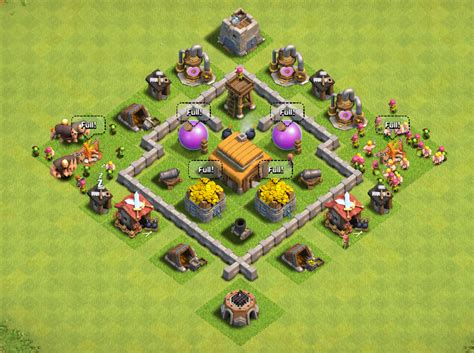 layout for town hall 3 town hall 3 tips clashofclanscheatstipsandattacks