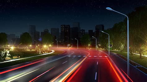 3d Wall Panel Citylight Street Lighting Interactive Animation