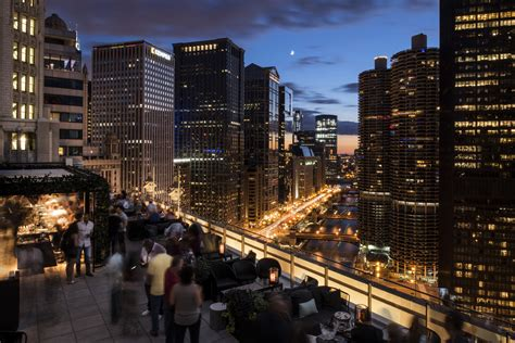top ten bars in chicago chicago rooftop bar with a view londonhouse chicago