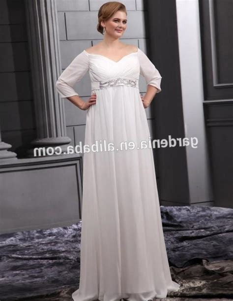 Discount Empire Wedding Dresses by Plus Size Empire Waist Wedding Dress Pluslook Eu Collection