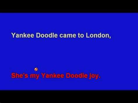 yankee doodle karaoke free uploaded by diversitune