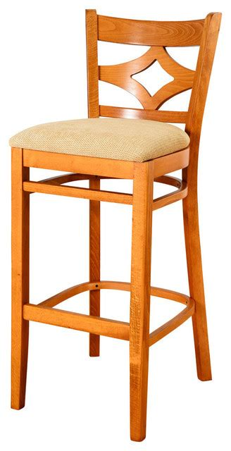 Cherry Bar Stools With Backs by Curtain Back Bar Stool With Cushion Cherry Bar Stools