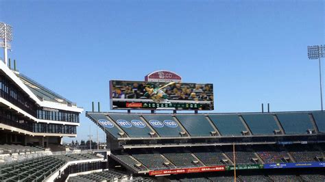 Oakland Room And Board by Oakland Athletics O Co Coliseum Diversified