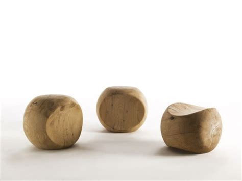 Stool Is Not Solid by Ameda Solid Wood Stool By Benno Vinatzer