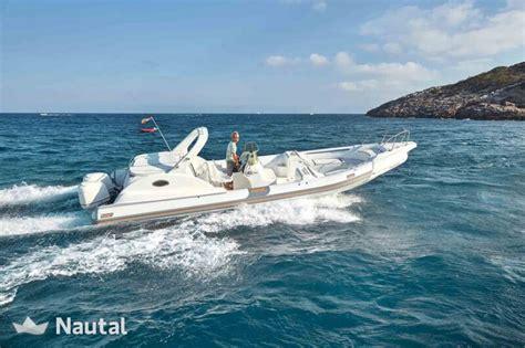 flying rib boat rib rent bat rib 35 in port d eivissa ibiza nautal