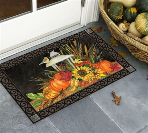 Fall Outside Door Mats Gorgeous Fall Door Mats Update Your Front Entrance