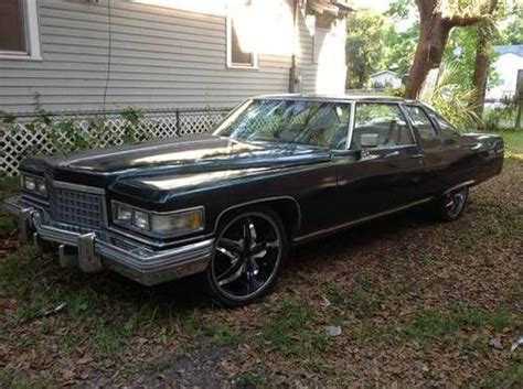 School Cadillacs For Sale by Purchase Used 1976 Cadillac Base Coupe 2 Door 8 2l