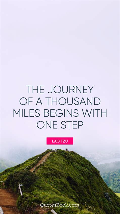 journey   thousand miles begins   step