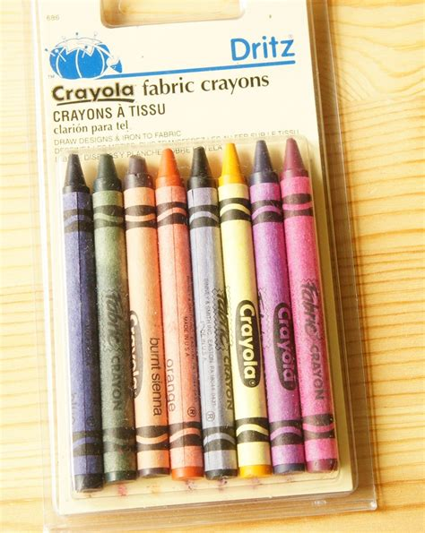 crayola creations printable fabric instructions iron on transfer crayons would be so sweet for someone