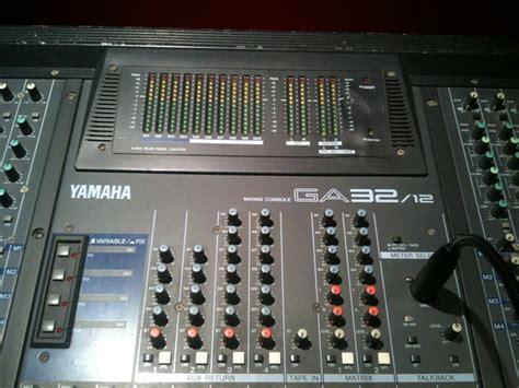 Mixer Yamaha Ga 32 Baru yamaha ga 32 12 image 456599 audiofanzine