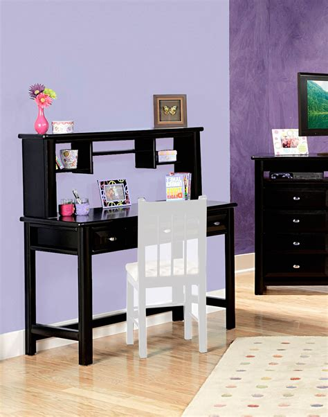 Black Student Desk With Hutch Chelsea Home 3534540 4541 3 Drawer Student Desk With Hutch Black Cherry Chf 3534540 4541 At